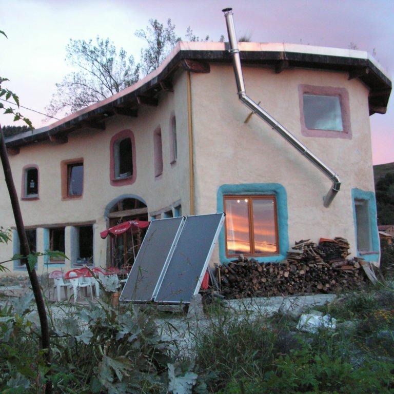 Sunrise, main house